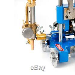 Manual Pipe GAS Cutter Beveler Torch Track Chain Cutting Beveling Machine USA