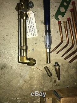 Meco Gas Combination welding torch and tips