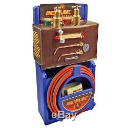 Medium Duty Portable Welding Cutting Brazing Outfit Kit Regulator Torch Gas Weld