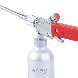 Metal Powder Spray Gas Welding Torch Oxygen Acetylene Flame Gun 430mm+ 3 Nozzles