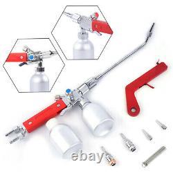 Metal Powder Spray Welding Torch Oxygen Acetylene Flame Welding Gun O2 C2H2 Gas