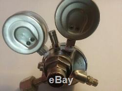 Metco 2 stage Hydrogen cga 350 gas regulator victor gauges cutting torch