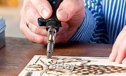 Micro Torch Kit Butane Gas Soldering Iron Welding Art Crafts Knife Jewelry Tools