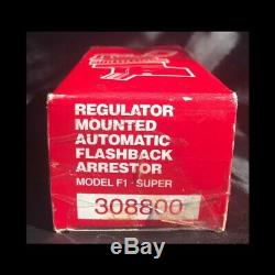 NEW Arrestor flashback 5/8-18 UNF end torch/fuel/gas acetylene welding cigweld