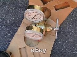 New Airco Acetylene 2 Stage Gas Welding Regulator 806-8402 CGA 300 Torch