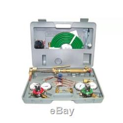 New Harris Type Gas Welding & Cutting Kit Oxygen Torch Acetylene Welder Tool