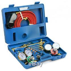 New VICTOR Type Gas Welding & Cutting Kit Oxygen Torch Acetylene Welder Tool