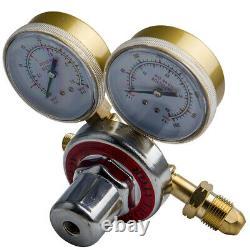 OXYGEN and ACETYLEN Gas Welding Regulator Solid Brass Fit Victor Torch Cutting