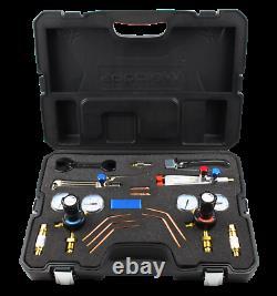 Oxy/ Acetylene Lightweight Welding & Cutting Set Gas Torch Cutter Nozzle Kit