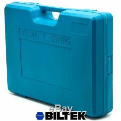 Oxy Acetylene Welding Cutting Torch Kit Gas Welder Set +15ft Hose Goggles Case