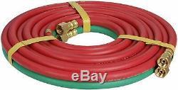 Oxygen & Acetylene Gas Cutting Torch and Welding Kit Portable Oxy Brazing Welder