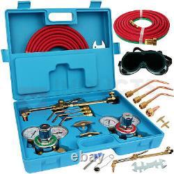 Oxygen Acetylene Oxygen Torch Brazing Kit Gas Welding Cutting Kit