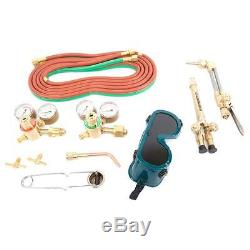 Oxygen Acetylene Torch Kit Medium Duty Gas Welding & Cutting Outfit Power Tools