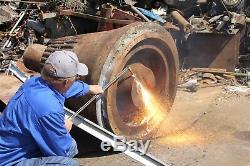Oxygen Gas oline Cutting Torch Set Big SAVINGS Vs Acetylene propane Cut 4 Steel