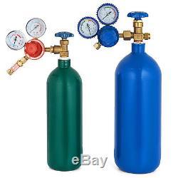 Oxygen Propane GAS Welding Cutting Torch Kit Portable Premium Bending