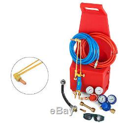 Oxygen Propane Gas Welding Cutting KIT Professional Torch Tote RELIABLE SELLER