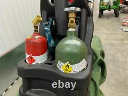 Portable Oxygen / Acetylene Weld Cutting Torch with Gas Tanks
