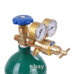 Portable Twin Tote Oxygen Acetylene Oxy gas Welding Cutting Weld Torch Tank-DOT