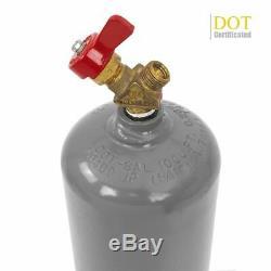 Portable Twin tote Oxygen Acetylene Oxy gas Welding Cutting Weld Torch DOT Tank