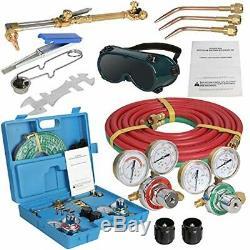 Portable Type Gas Welding Cutting Kit Oxygen Torch Acetylene Welder Brazing