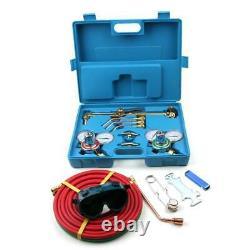 Portable Welder Welding Cutting Kit Soldering Gas Oxygen Torch Acetylene Safe