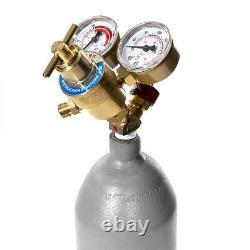 Portable oxyacetylene oxygen welding torch gas tank kit Professional Edition