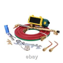 Portable twin tote Oxygen Acetylene Oxy gas Welding Cutting Weld Torch Tank USA