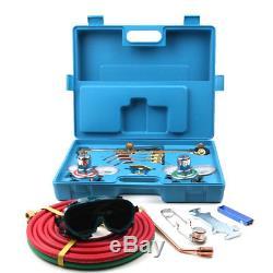 Professional Gas Welding&Cutting Kit Oxygen Torch Acetylene Welder Tool Case