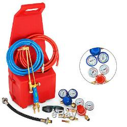 Professional Portabl eOxygen Propane GAS Welding/Cutting Outfit Torch Tool Kit