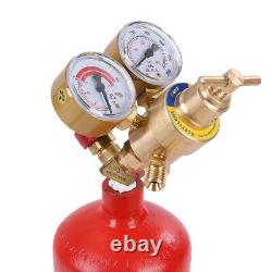 Professional Portable Oxygen Acetylene Oxy Welding Cutting Torch Kit & Gas Tank