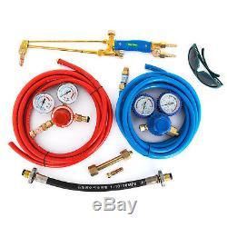 Professional Portable Torch Kit Oxygen Propane GAS Welding Cutting Kit NO Tank