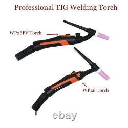 Professional WP26 TIG Torch GTAW Gas Tungsten Arc Welding Gun WP26FV Argon Air