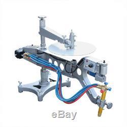 Profiling Gas Cutting Machine Adjusting Speed Cutting System Torch Track Cutter