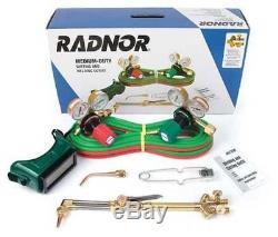 RADNOR G250-300 Medium-Duty Gas Cutting & Welding Torch & Regulator Outfit NEW