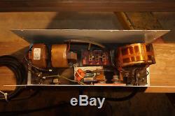 SD Lee (Century) TIG welder arc stabilizer withtorch and Co2 gas regulator-Working