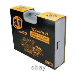 SÜA Oxygen & Acetylene Gas Cutting & Welding Set, Heavy Duty Torch, Plastic Case