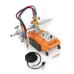 Semi-Automatic Torch Track Burner Pipe Cutter Gas Cutting Machine with Rail Track