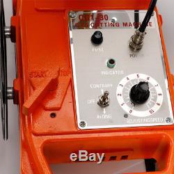 Semi-automatic Torch Gas Cutting Machine 50Hz Pipe Circular Cutter Magnet Wheel