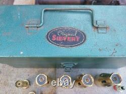 Sievert bakalite Welding Torch vintage original box primus svea