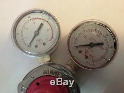 Smith H1710A oxy & H1721A acet gas regulators victor cutting torch compatible