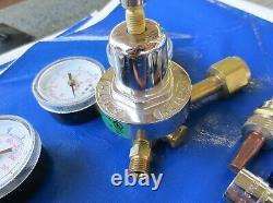 Smith Medium Duty CW5A Oxy Acetylene Gas Welding Cutting CC509P Torch Regulator