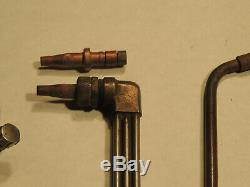 Smiths AW1 Oxy-acetylene gas welding torch, working condition, AC309, and tips