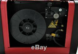 Snap On Synergic Inverter Gas/Gasless Wire Welder MIG185i with Aluminum Torch