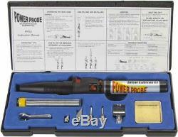 Soldering Kit Power Probe Butane Tool Flame Torch Iron Cordless Welding Gas NEW