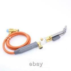 Soldering Welding HVAC Plumbing Gas Torch Twin Tubes MAPP 1.5m Hose Brazing Kits