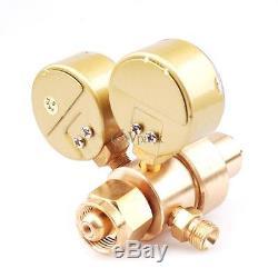 Solid Brass Oxygen & Acetylene Regulators 4 Welding For Victor Gas Torch Cutting