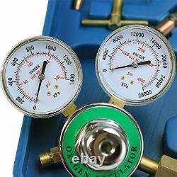 Stark Gas Welding & Cutting Torch Kit Oxy Acetylene Oxygen Brazing Professional
