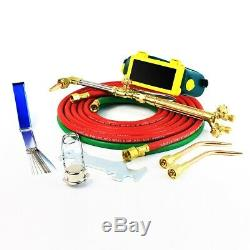 Stark Portable Victor Type Gas-Welding Cutting Torch Kit Oxygen Acetylene