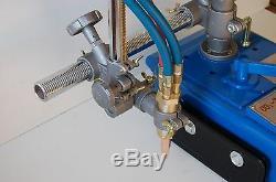 TORCH TRACK BURNER CUTTER by BLUEROCK TOOLS CG-30 GAS CUTTING MACHINE