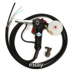 Tool Spool Gun Gas Shielded Welding Gun Push Pull Aluminum Torch with 3M Cable